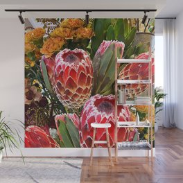 Protea Flowers Wall Mural