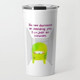 Introvert Travel Mug