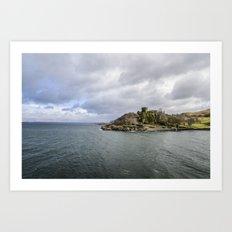 Castle View Art Print