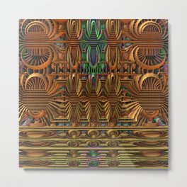 Radiator Metal Print