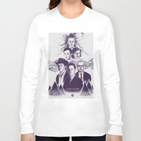 twin peaks Long Sleeve T-shirts featuring Twin Peaks by Young Napoleon