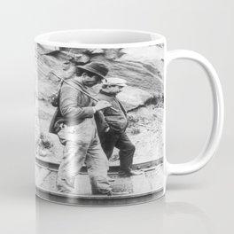 Hobos Walking The Rails Coffee Mug
