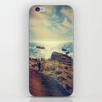chile iPhone & iPod Skins featuring Quintero, Chile. by Viviana Gonzalez