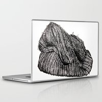 knit Laptop & iPad Skins featuring Knit Cap by JBlye