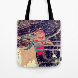Tacky Bee Tote Bag