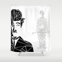 chaplin Shower Curtains featuring CHAPLIN by ARCHIGRAF