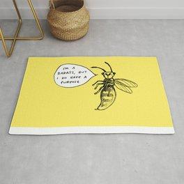 Wasps Aren't Evil Rug