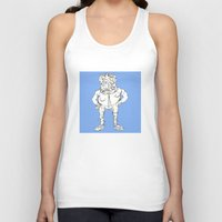 rocky Tank Tops featuring Rocky by Masonjohnson