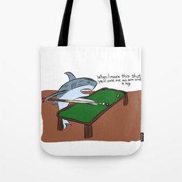 Pool Sharks Tote Bag