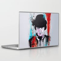 clockwork orange Laptop & iPad Skins featuring A Clockwork Orange - ALEX by Denise Esposito