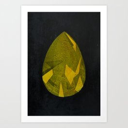 Buddha's teardrop Art Print