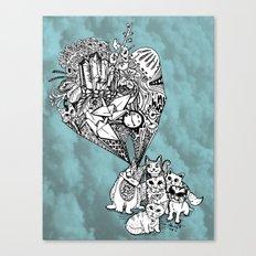 Kitten Vision Canvas Print