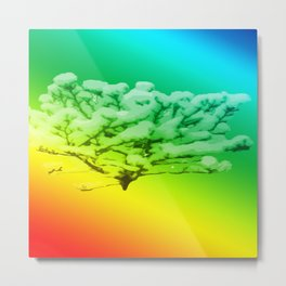Tree of colours Metal Print