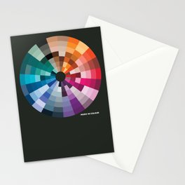 Music In Colour Stationery Cards