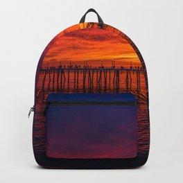 Redondo Pier Sunset Backpack