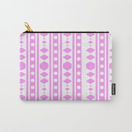 Pink Pattern Tribal Carry-All Pouch