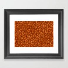 Control Your Game - Tradewinds Orange Framed Art Print