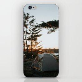 Camp Vibes iPhone Skin