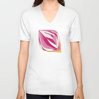 icecream V-neck T-shirts featuring Icecream by Vítor Galvão