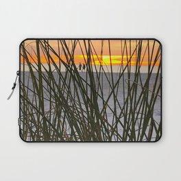 A Walk on the Beach Laptop Sleeve