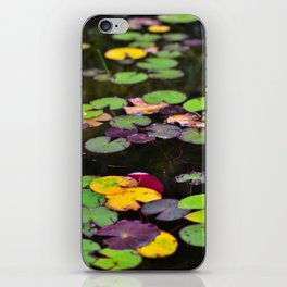 Waterlilies iPhone Skin