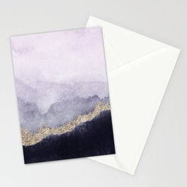 Abstract Marble Landscape Stationery Cards