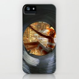 Leeloo Fifth Element iPhone Case