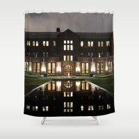 will graham Shower Curtains featuring Graham by Raffy Joseph Padua