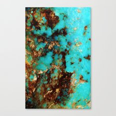 Turquoise I Canvas Print
