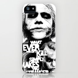 Agent of Chaos iPhone Case