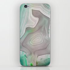 MINTY MINERAL iPhone & iPod Skin