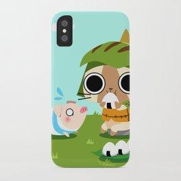 Monster Hunter - Felyne and Poogie iPhone Case
