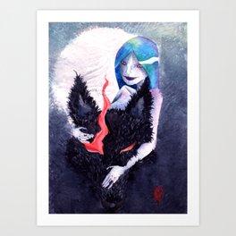 Wolves from the Fog Art Print