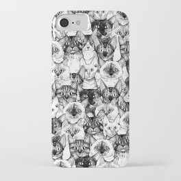 just cats iPhone Case