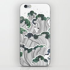 Storming mind | White iPhone & iPod Skin