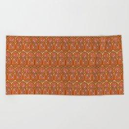 Marrakesh Windows Beach Towel