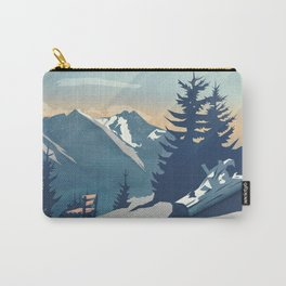 Mountain Sunrise (Pause II) Carry-All Pouch