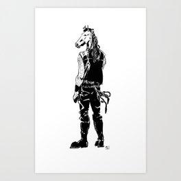 Horsepower Art Print