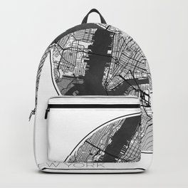 New York Map Universe Backpack