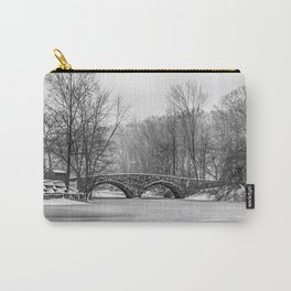 Stone Bridge at Clove Lakes Staten Island Carry-All Pouch