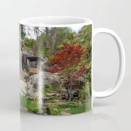 Waterfall at Maymont Park Coffee Mug