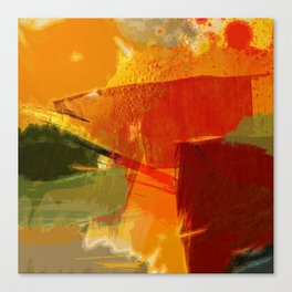 Hot summer Canvas Print