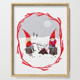 Snow and Stories Serving Tray