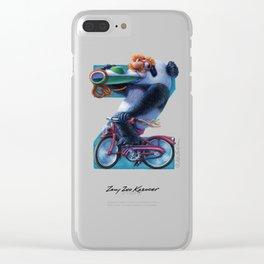 Zany Zoo Kazooer Clear iPhone Case