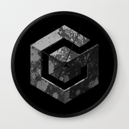 GameCube - Colorless Wall Clock
