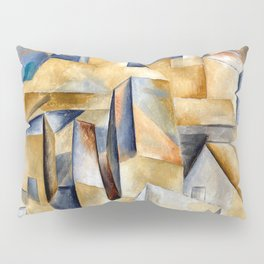 Pablo Picasso Houses on a Hill Pillow Sham