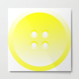 Button (from Design Machine archives) Metal Print