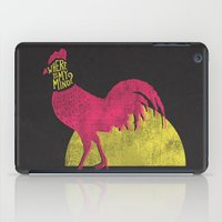 pixies iPad Cases featuring Where is my mind? by MidnightCoffee
