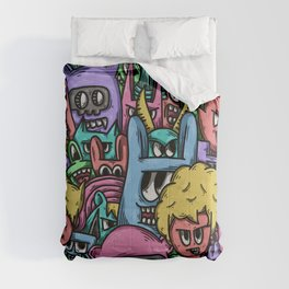 Funny Cute Doodle Comforters