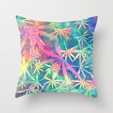 Colorful Nature 02 Throw Pillow